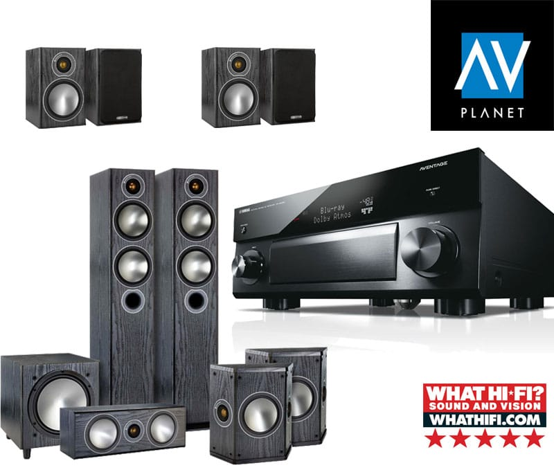 yamaha rx a2070 set z zvo niki monitor audio av planet. Black Bedroom Furniture Sets. Home Design Ideas