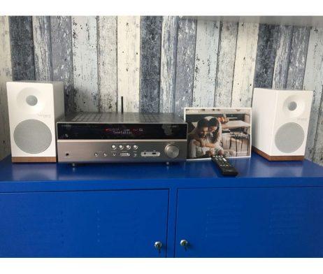 YAMAHA RX-V485 HiFi set z zvočniki Tangent
