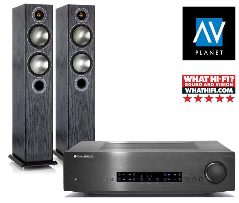 Cambridge Audio + MA Broze 5