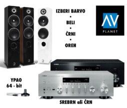 Yamaha receiver z zvočniki