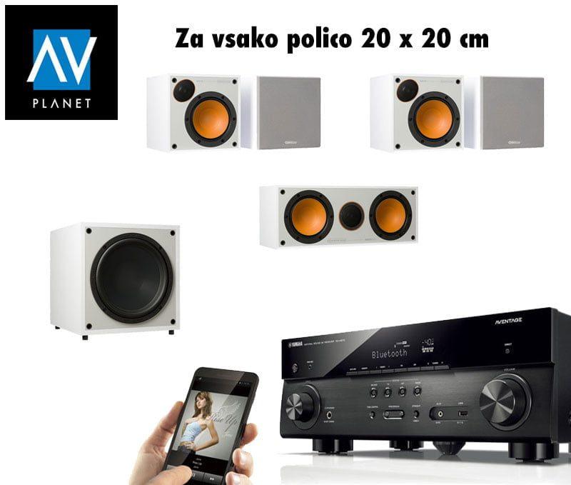 Yamaha + Monitor Audio 5.1