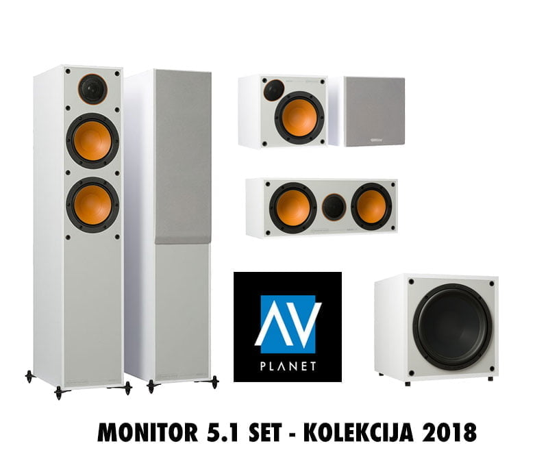 Monitor Audio MONITOR 5.1 set