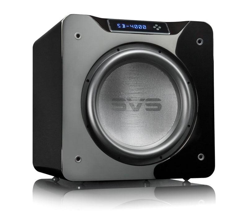 SVS SB-4000 črn lak sijaj