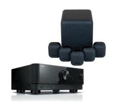 yamaha 5.1 sprjemnik z zvočniki Monitor Audio